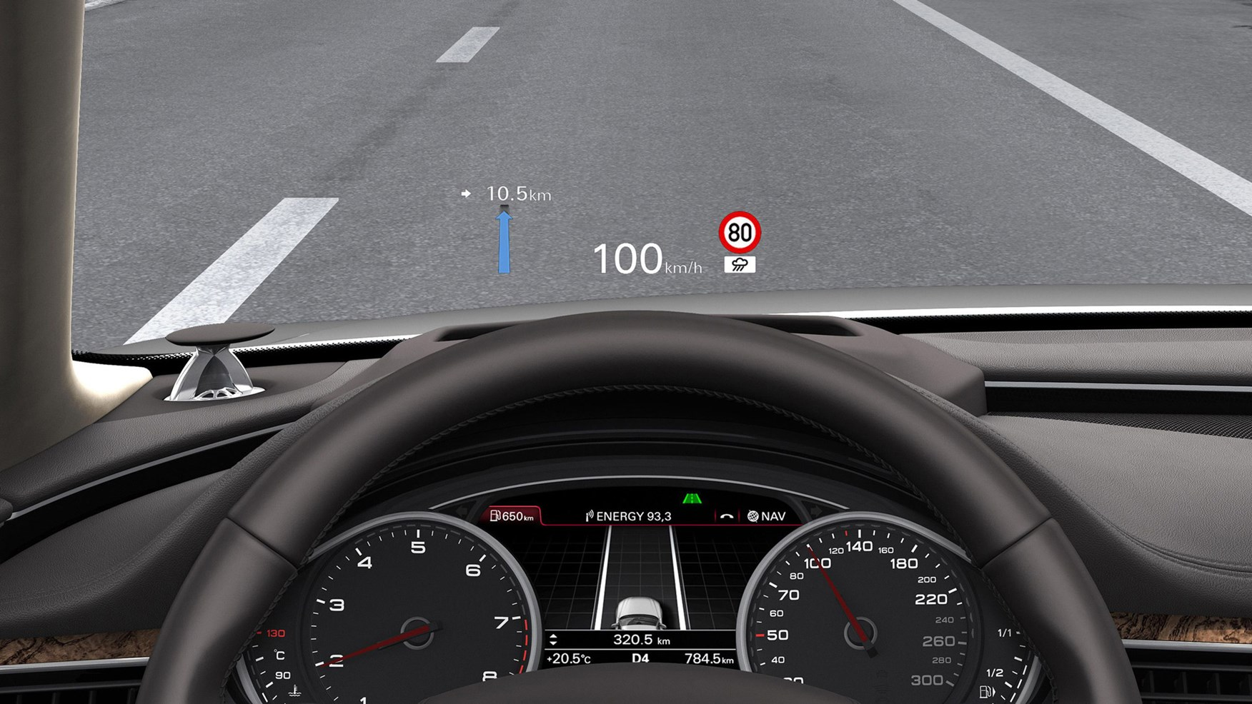 BMW Head-up Display: How it works?